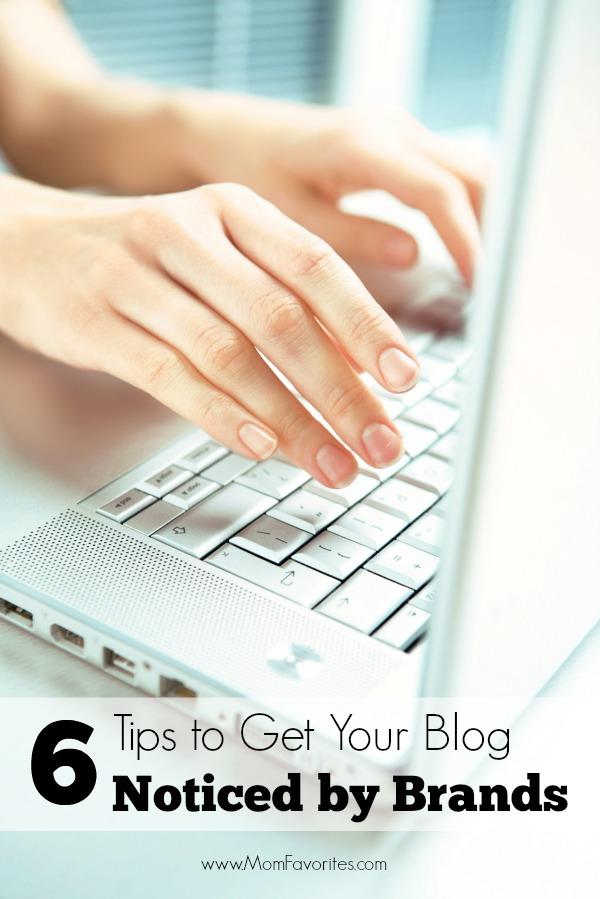 6 Tips to Get Your Blog Noticed by Brands   B2K Media Marketing #socialmedia #blogging