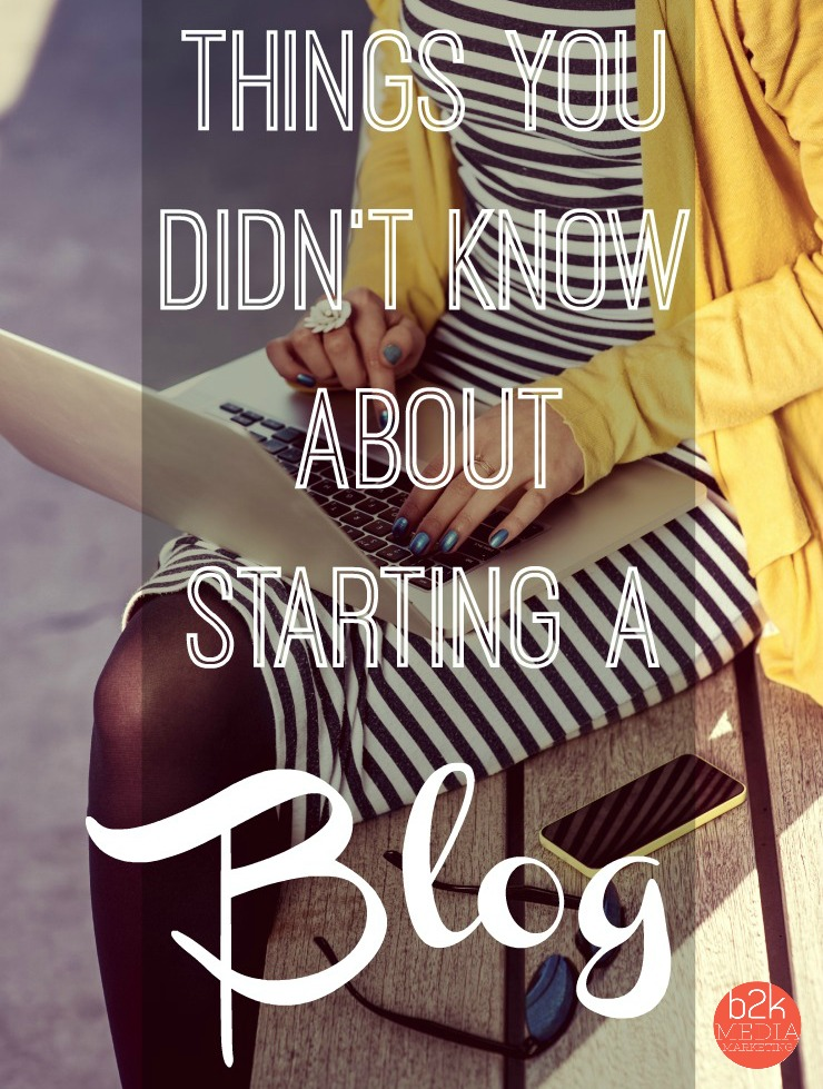 Tips for starting a blog - 5 things you may not have known about blogging.